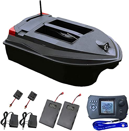 Smart Fishing Bait Boat with Remote Control + Fish Finder + Night Fishing Reflector [Ourlove] Picture