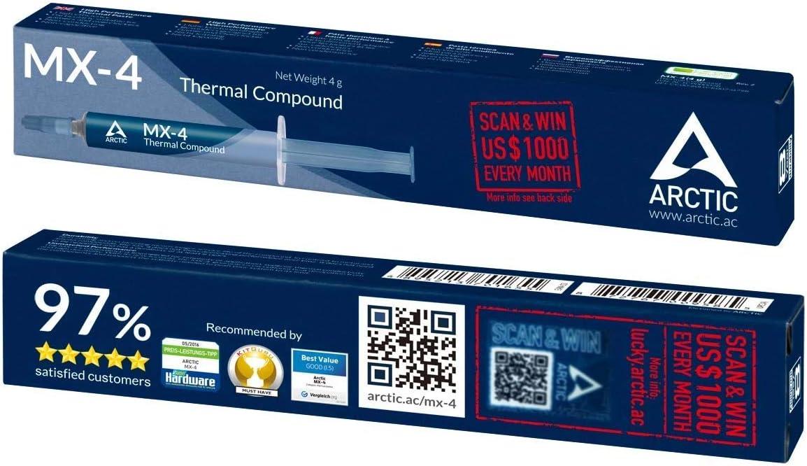 Arctic Mx 4 Qualitäts Wärmeleitpaste Für Alle Computer Zubehör