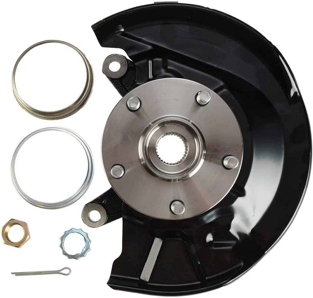 A-Premium Steering Knuckle and Hub Bearing Assembly Compatible with Toyota Camry 1997-2001 Front Driver Side