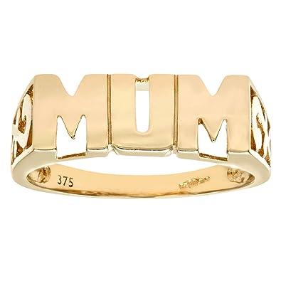 962c09691cf08 Naava 9ct Yelow Gold Mum Ring PR05783Y