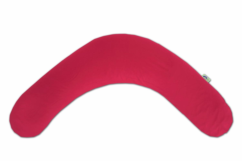 190 cm Theraline 51012402 Das Original Kissen inklusive Bezug jersey rot