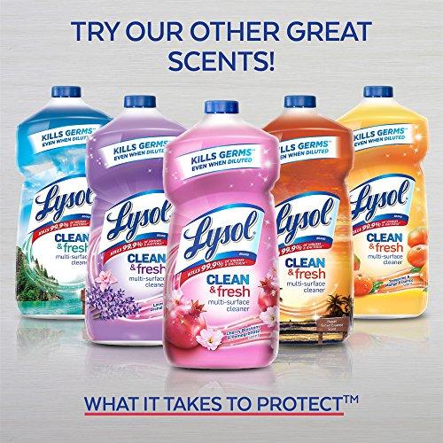 Lysol Clean Amp Fresh Multi Surface Cleaner Lemon