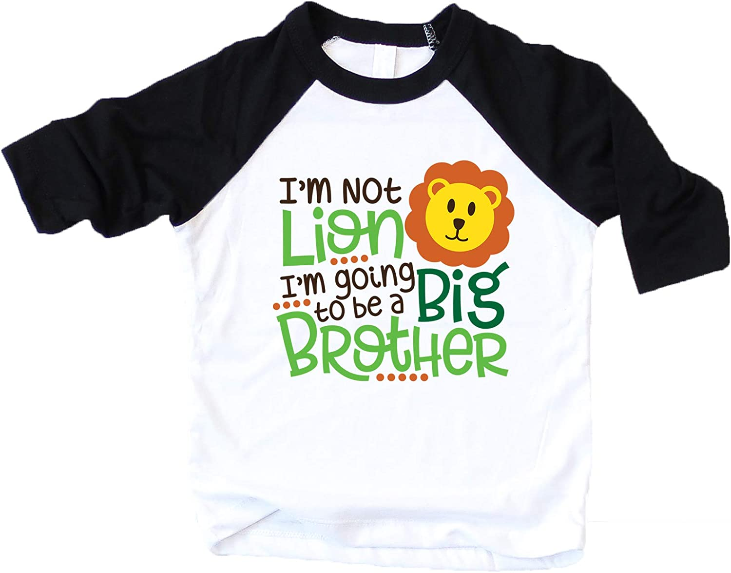 I'm not Lion I'm Going to be a Big Brother Shirt Big Brother Shirt for Boys Big Brother Shirt for Toddler Boys