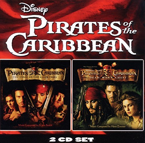 Pirates of The Caribbean Curse of The Black Pearl/Pirates of The Caribbean Dead Man's Chest (OST) by Pirates of the Caribbean: Double Pack (June 7, 2011) Audio CD (Pirates Of The Caribbean Dead Mans Chest Soundtrack)