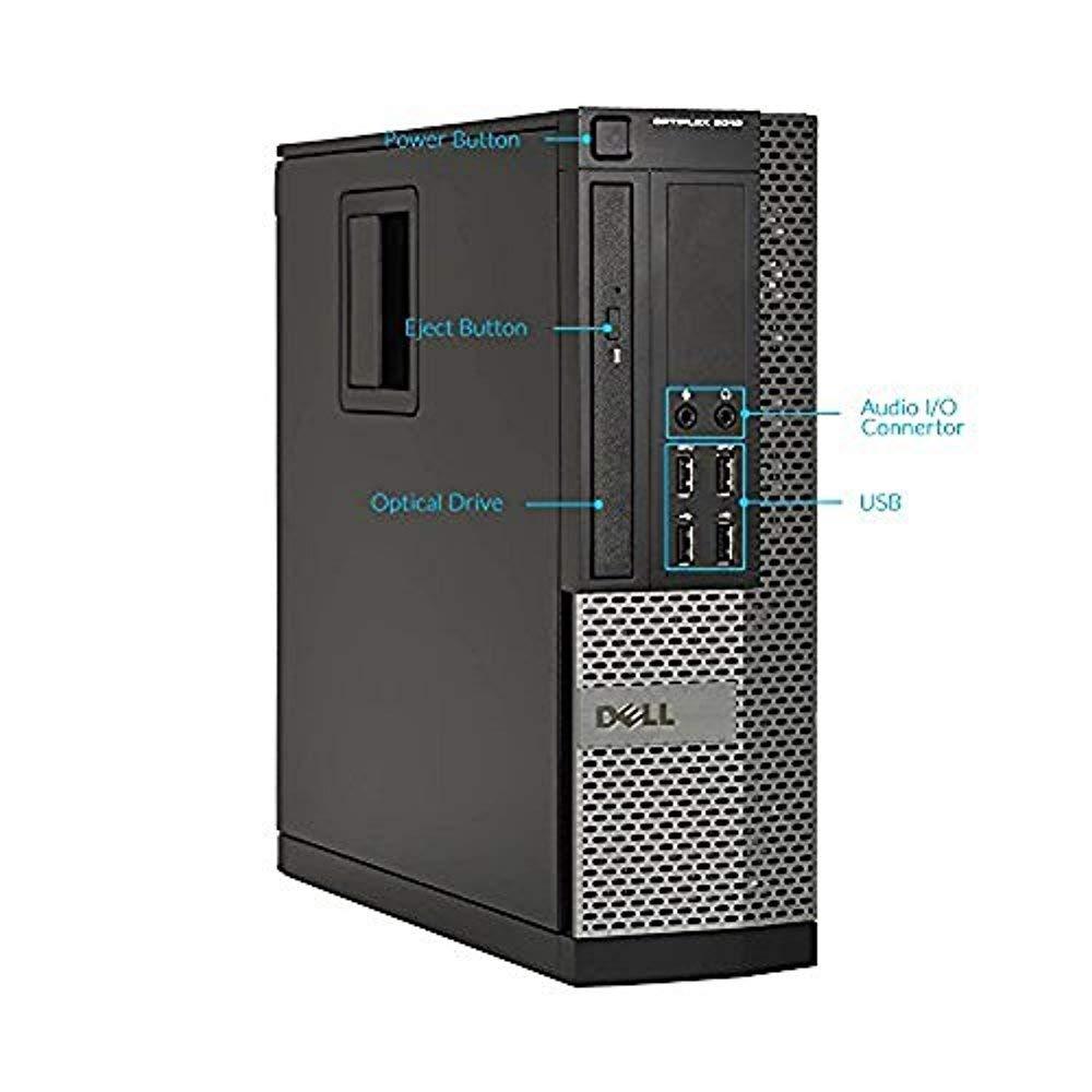 Dell Optiplex 9010 SFF Desktop PC - Intel Core i5-3470 3 2GHz 16GB 2TB DVD  Windows 10 Pro, WIFI, HDMI (Renewed)