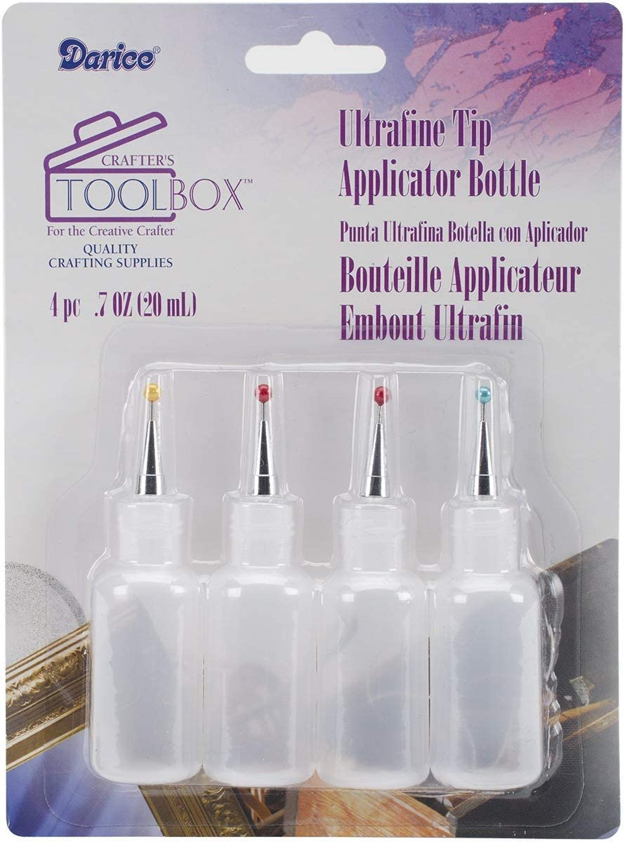 Darice Ultrafine Tip Applicator Bottle, 20ml
