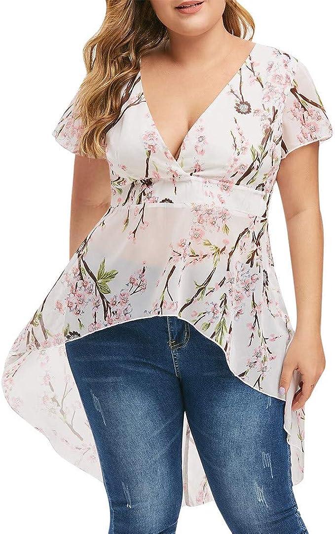 Worsworthy Camisa de Manga Larga para Mujer Camisetas Mujer ...