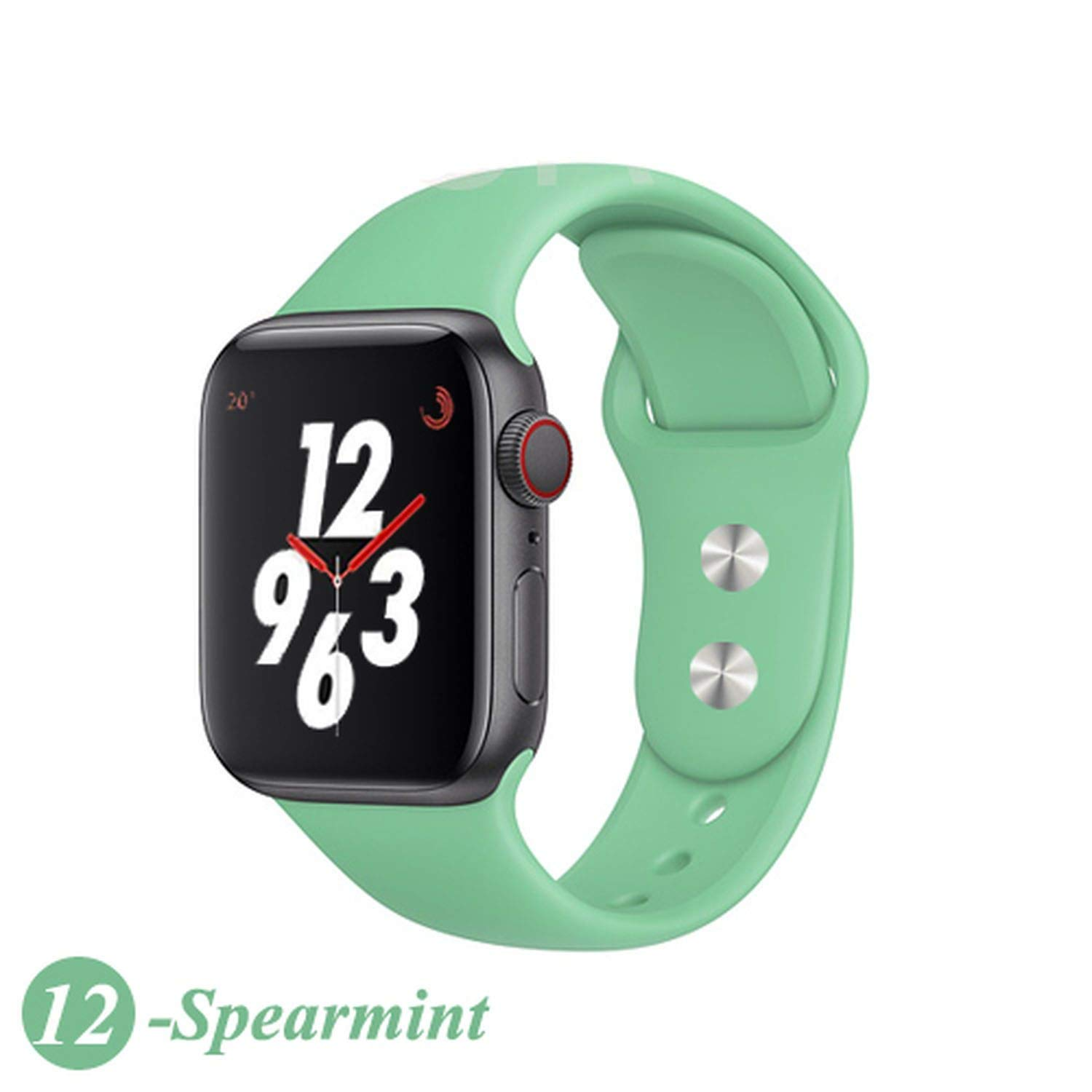 Amazon.com: Strap for Watch Band Silicone Sport Correa 4 ...