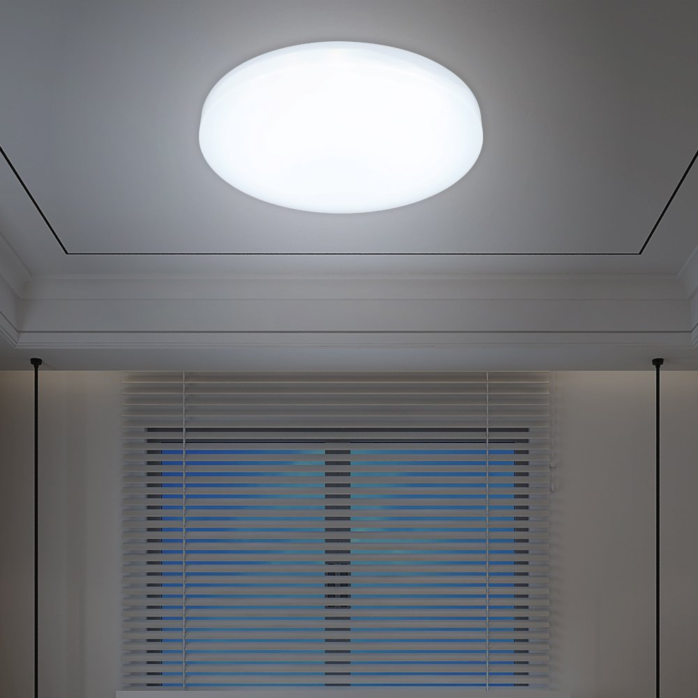 VINGO® 12W LED Deckenleuchte Deckenlampen Weiß Wohnzimmerlampe ...