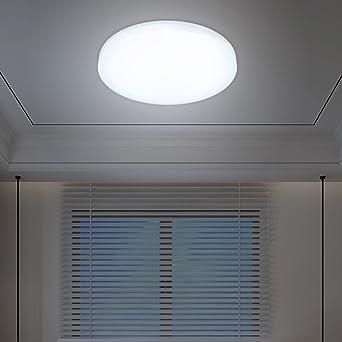 VINGOR 12W LED Deckenleuchte Deckenlampen Weiss Wohnzimmerlampe Badleuchte Deckenbeleuchtung Wohnzimmer Smart Beleuchtung Rund Wand