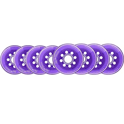 Labeda Wheels 80mm /76mm Hilo Set Addiction Purple Inline Indoor Roller Hockey : Sports & Outdoors [5Bkhe0302067]