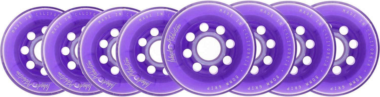 Labeda Inline Roller Hockey Skate Wheels Addiction Purple 80mm Set of 8