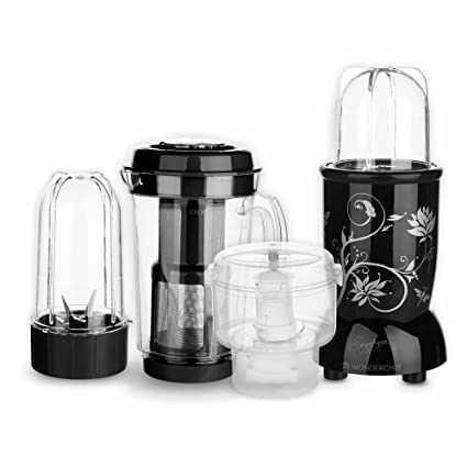 0b9c60a0d81 Buy Wonderchef Nutri-Blend CKM with 3 Jars (Black) Online at Low ...