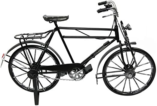 qucaojiu Retro Vintage Metal Modelo de Bicicleta Creativa ...
