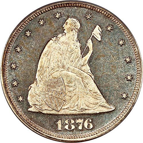 1876 P 20-Cent Pieces (Proof) Twenty Cent Piece PR64 PCGS CAM
