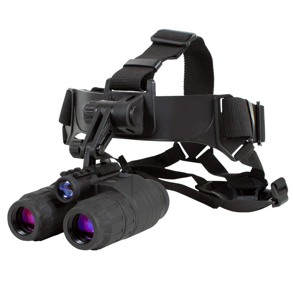Sightmark SM15070 Ghost Hunter 1x24 Night Vision Goggle Binocular Kit (Renewed) by Sightmark