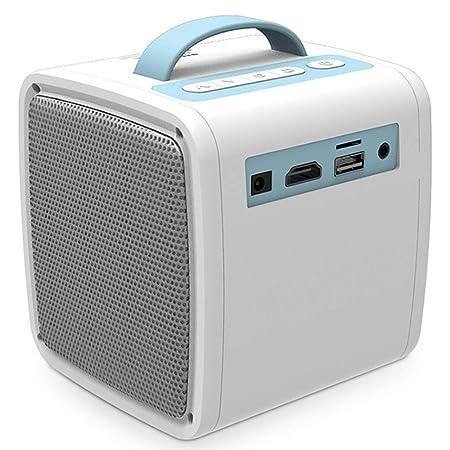 AXDNH Proyector portátil HD, 1000 Lux LED Proyector de Video ...