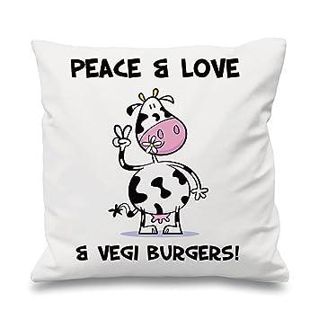 Amazon.com: Tribal camisetas paz, Love & Vegi hamburguesas ...