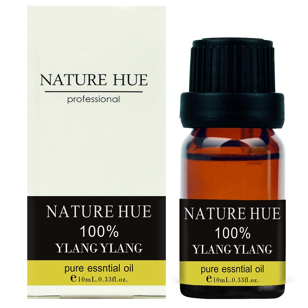 Nature Hue - Ylang Ylang Essential Oil 10 ml, 100% Pure Therapeutic Grade, Undiluted