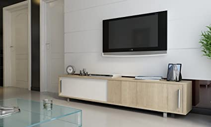 Tv Stand Modern Designs : Soprano modern style large tv stand