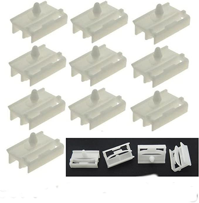 Pin /& Spacer Kit 5x BMW Side Skirt Clips /& Sill Moulding Trim Plastic Bolt