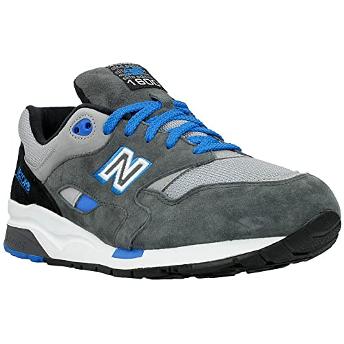 969c580cec611 New Balance - Zapatos de cordones para hombre Gris - Azul 41.5 ...
