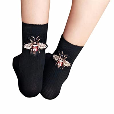 Suma-ma Fashion Women Girls Design Multi-Color Warm Winter Casual Solid Socks