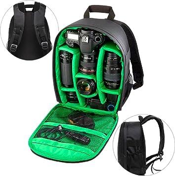 Sannysis Mochila para cámaras deportivas impermeable del morral para Canon  para Nikon para Sony c24704abcfde0