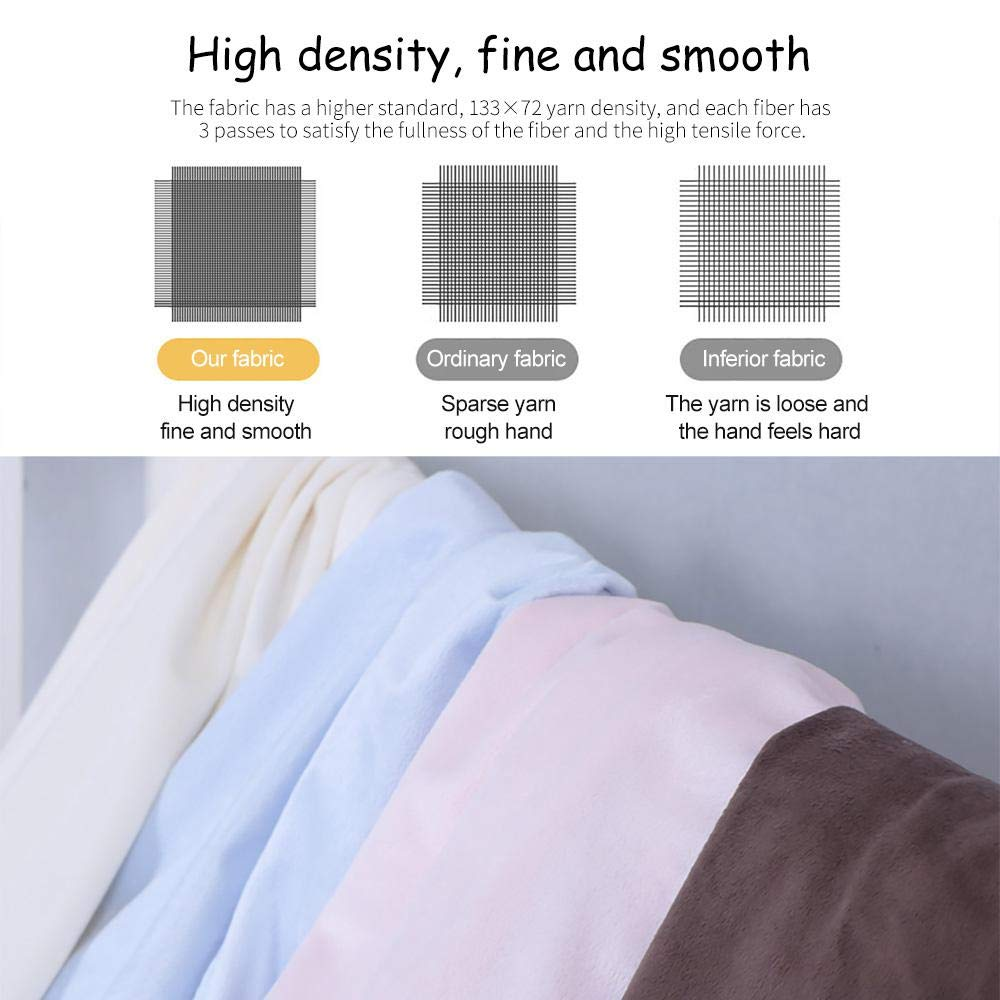 Baby Fitted Crib Sheet Soft Flannel Crib Mattress Sheet for Standard Crib and Toddler Mattresses,Breathable and Hypoallergenic Baby Sheet-Brown