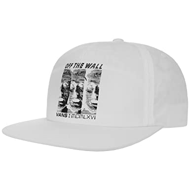 Vans - WiFi Shallow Unstructured - Gorra - White: Amazon.es ...