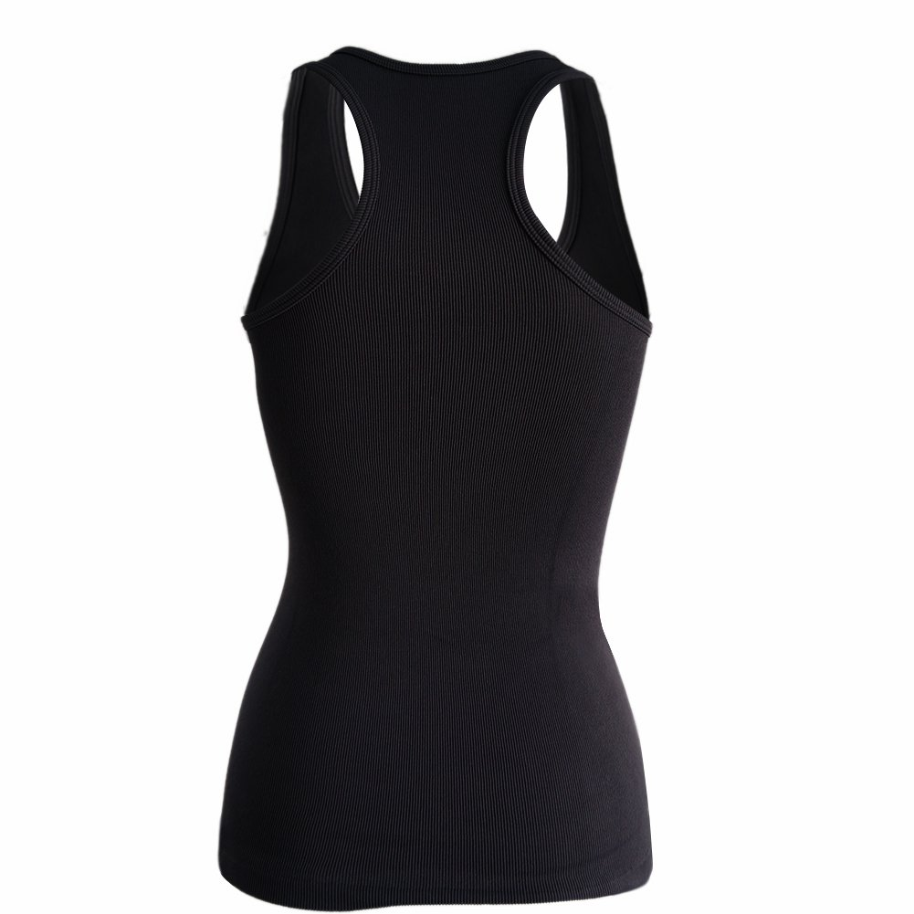 Semath Tank Top for Women Running Workout Clothes Athletic Yoga Racerback 1-6 Pack YS00101S-1