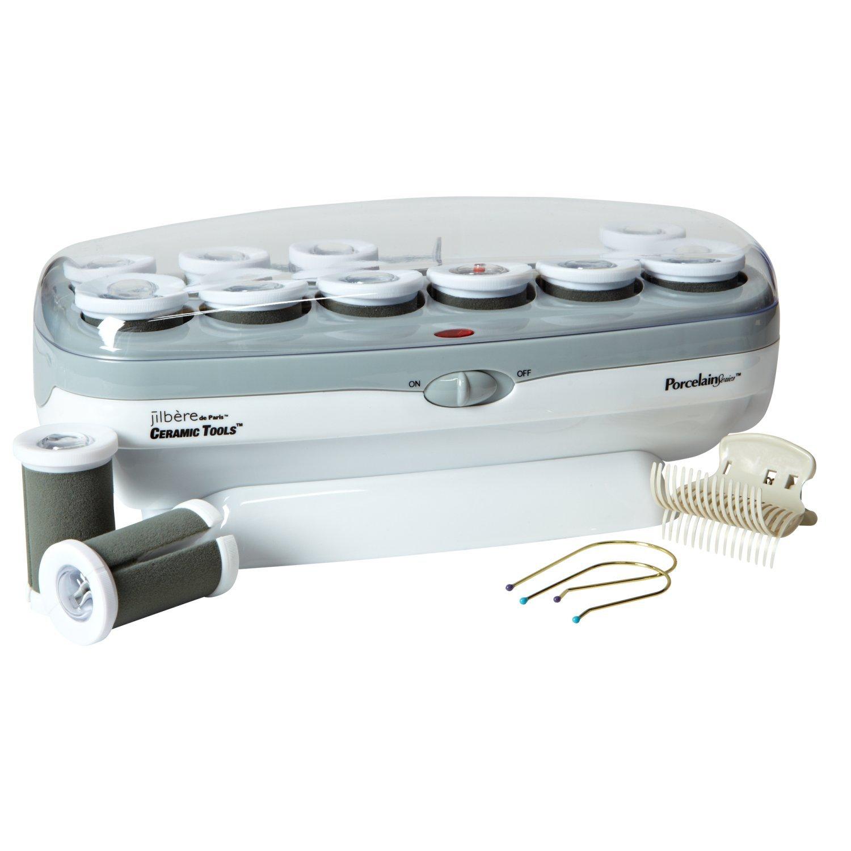 Conair Pro Instant Heat Ceramic Hair Curler, 12 Rollers