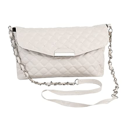 Amazon.com  Baynne Women Shoulder Bag PU Leather Clutch Chain ... 654b87bbcc595