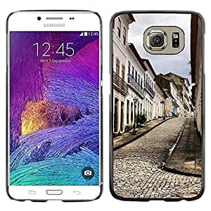 LECELL -- Funda protectora / Cubierta / Piel For Samsung Galaxy S6 SM-G920 -- Architecture Old Europe Town --