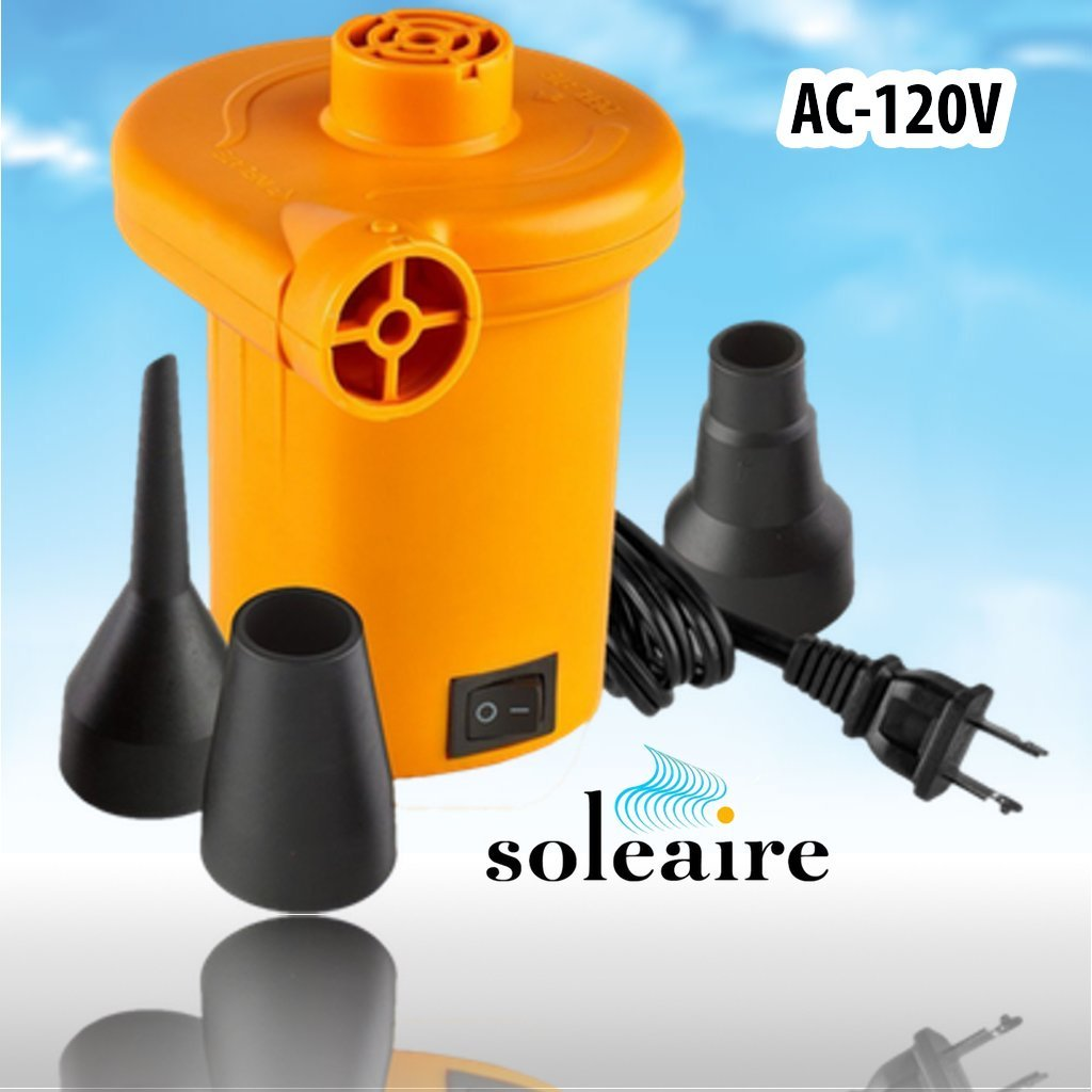 Amazon.com: Soleaire SA-101 120v Electric Air Pump Inflator Deflator  Powerful Quick Fill Inflatable Power 120 Volt Air Pump Boat Inflatables Pump  Air ... - Amazon.com: Soleaire SA-101 120v Electric Air Pump Inflator