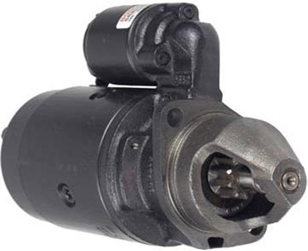 Rareelectrical NEW STARTER MOTOR COMPATIBLE WITH JOHN DEERE TRACTOR 1020 1030 1030OU 1040 0-001-358-041 TY6720