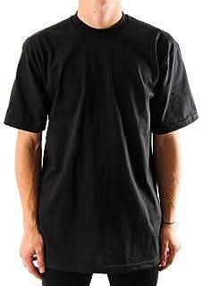 aa4849ea Pro Club Men's Heavyweight Cotton Short Sleeve Crew Neck T-Shirt ...