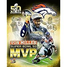 Von Miller MVP - Super Bowl 50 NFL Photo Poster (20x24)