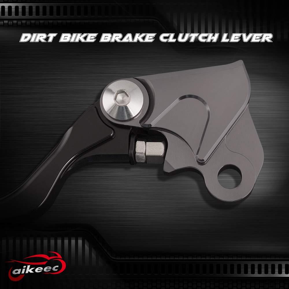 Motorcycle CNC Brake and Clutch Levers Dirt Bike Pivot Brake Clutch Levers For Honda CRF230F 2003-2009 Honda CRF 150F 150 230F 230 CRF150F CRF230F 2003-2016