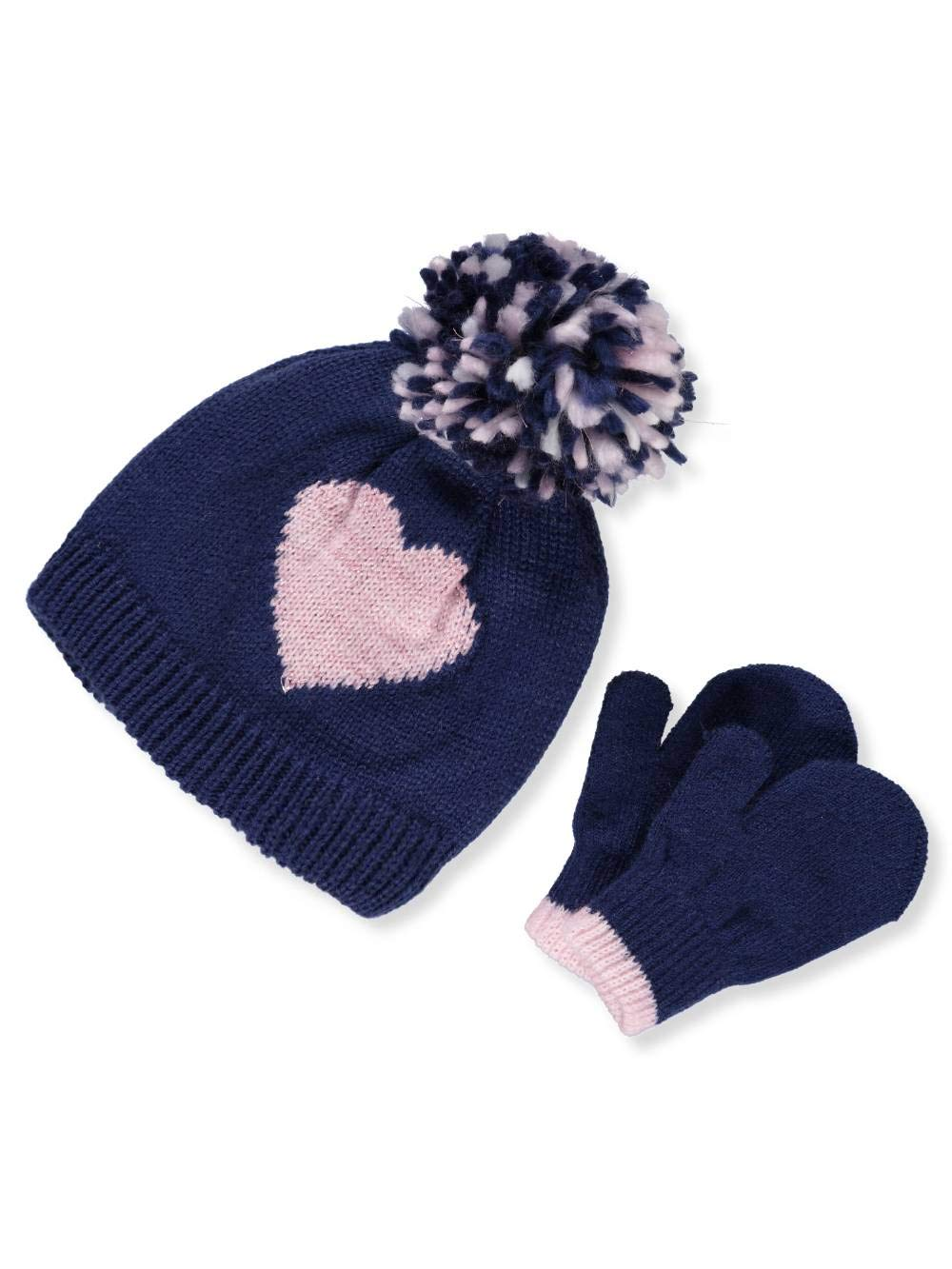 Carter's Baby Girls' Beanie & Mittens Set - navy, 0-9 months Carter' s