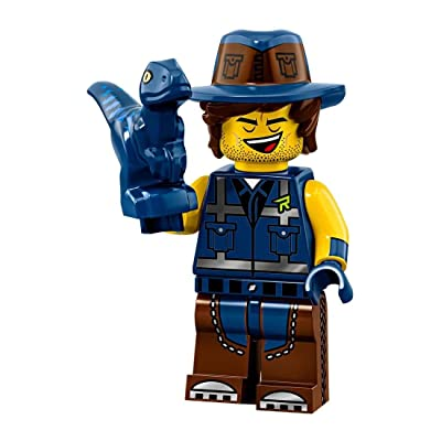 The LEGO Movie 2 Collectible MiniFigure - Vest Friend Rex (Sealed Pack): Toys & Games