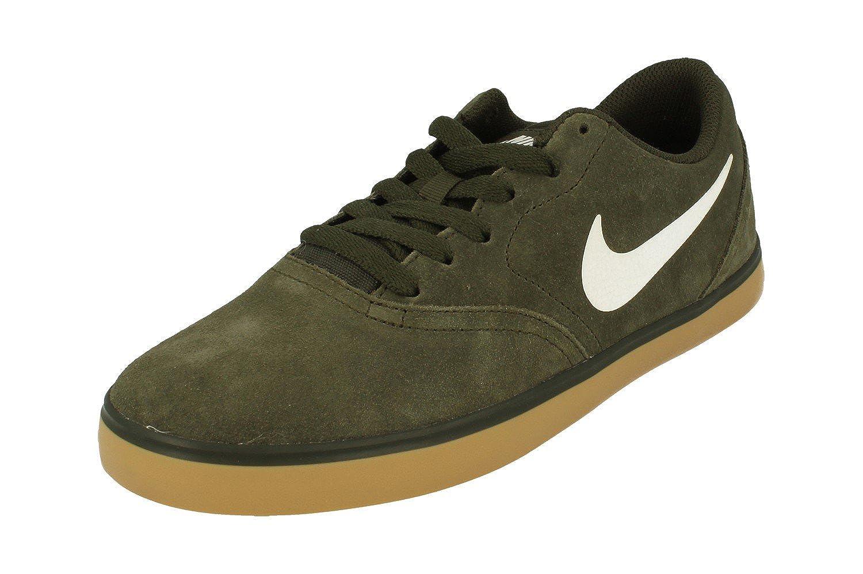 buy popular ae80f ed97c Amazon.com   Nike Men s SB Check Skateboarding Shoe Sequoia Gum Light Brown White  Size 9 M US   Skateboarding