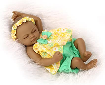 28cm Waterproof Full Silicone Body Reborn Baby Girl Doll Lifelike Cute Gift Toy