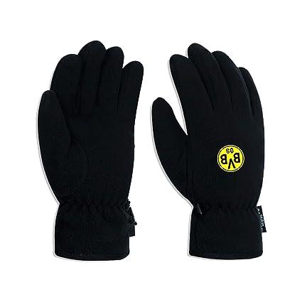 Borussia Dortmund BVB-Fleecehandschuhe (schwarz)