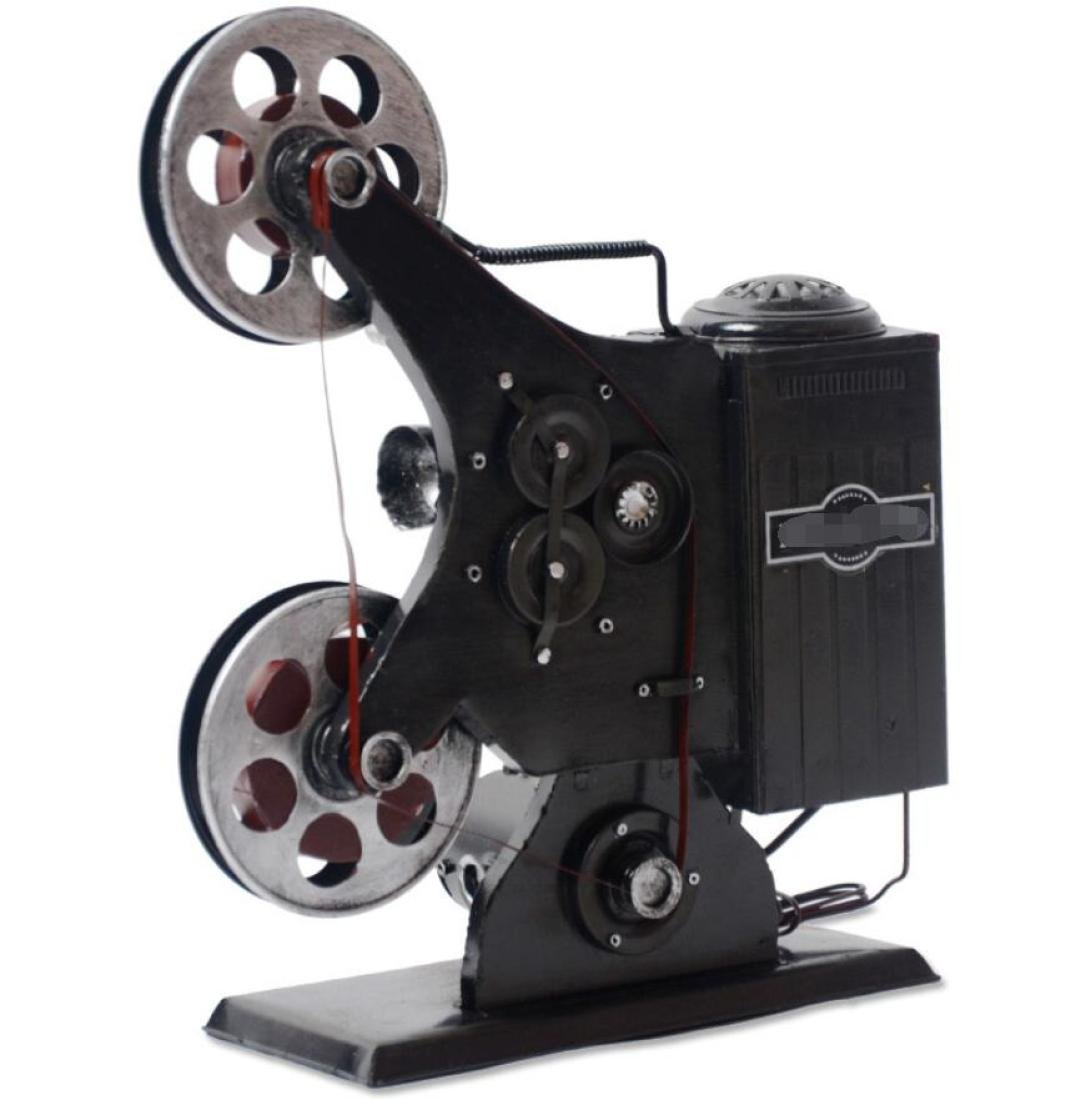 GL&G Retro Old style Nostalgic Antique projector model Decoration Photography props coffee shop Window Ornaments Tabletop Scenes Collectible Figurines