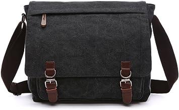 Shoulder Bag Canvas Crossbody Bag Unisex Leisure Bag Travel School Cross-body Bag