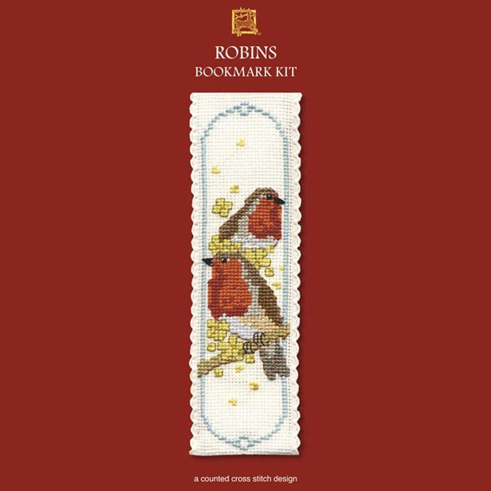 Textile Heritage Poppies Bookmark Cross Stitch Kit