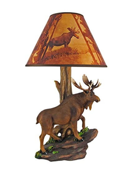 Resin table lamps north american bull moose table lamp w shade 12 resin table lamps north american bull moose table lamp w shade 12 x 20 x aloadofball Gallery