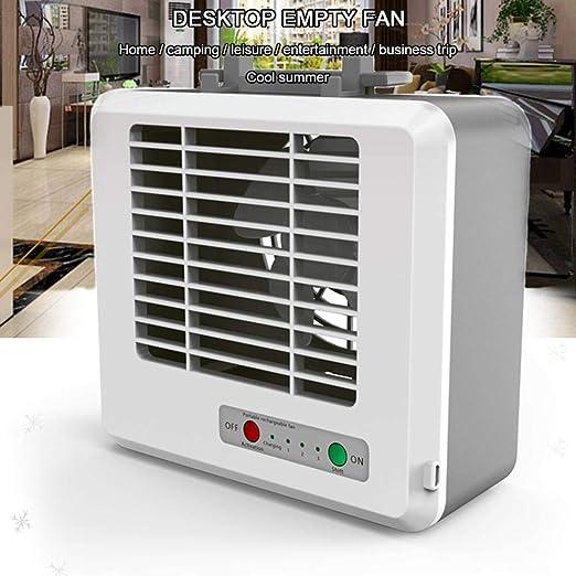 AIMERKUP Ventilador Hielo portátil, Aire Acondicionado, Ventilador ...