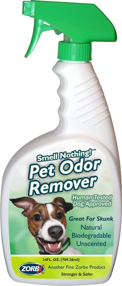 ZORBX Smell Nothing Pet Odor Remover – Safe for All, Even Pets and Children, with No Harsh Chemicals, Perfumes, or Fragrances, Stronger Safer Pet Odor Remover Works Instantly